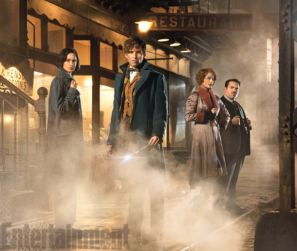 Fantastic Beasts and Where to Find Them官方圖片